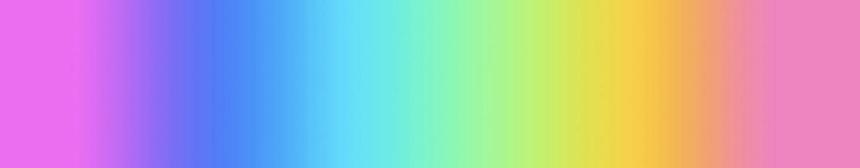 Iridescent gradient color palette