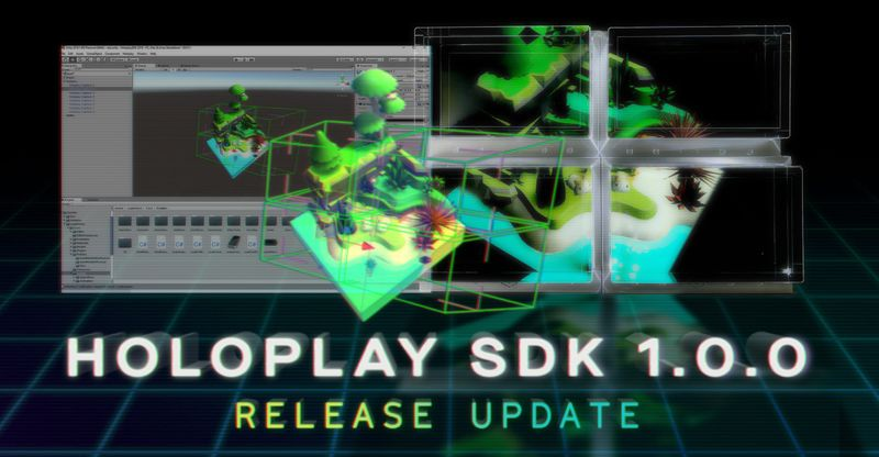 HoloPlay Unity SDK 1.0.0 (日本版)