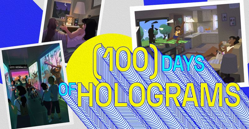 100 Days of Holograms: The List