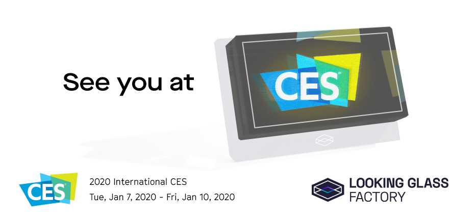 See You At CES 2020!